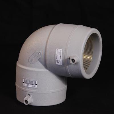 耐热聚乙烯电熔 90° 弯头