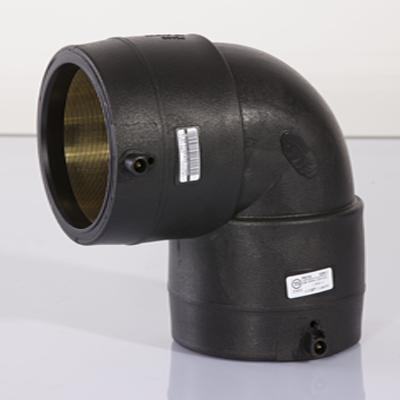 黑色聚乙烯电熔管件