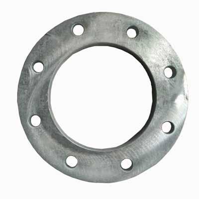 EN标准热镀锌碳钢法兰片
